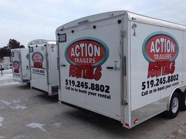 rental trailers ontario