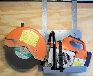 Cut Off Saw Rack