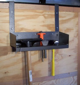 Hardscaping Hand Tamper Hand Tool Rack