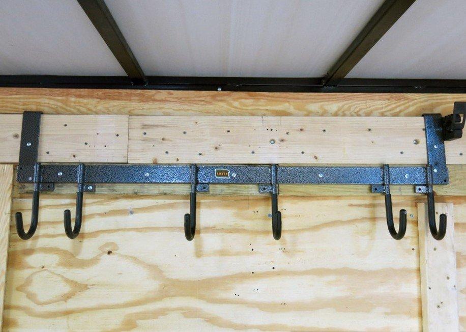 Rack /'Em 6-Hook Multi-Tool Rack Enclosed Trailer RA-7
