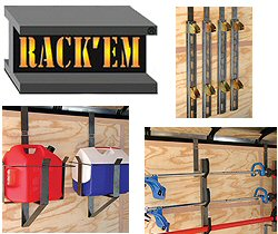 Accessories and Rack'em Equipment Racks