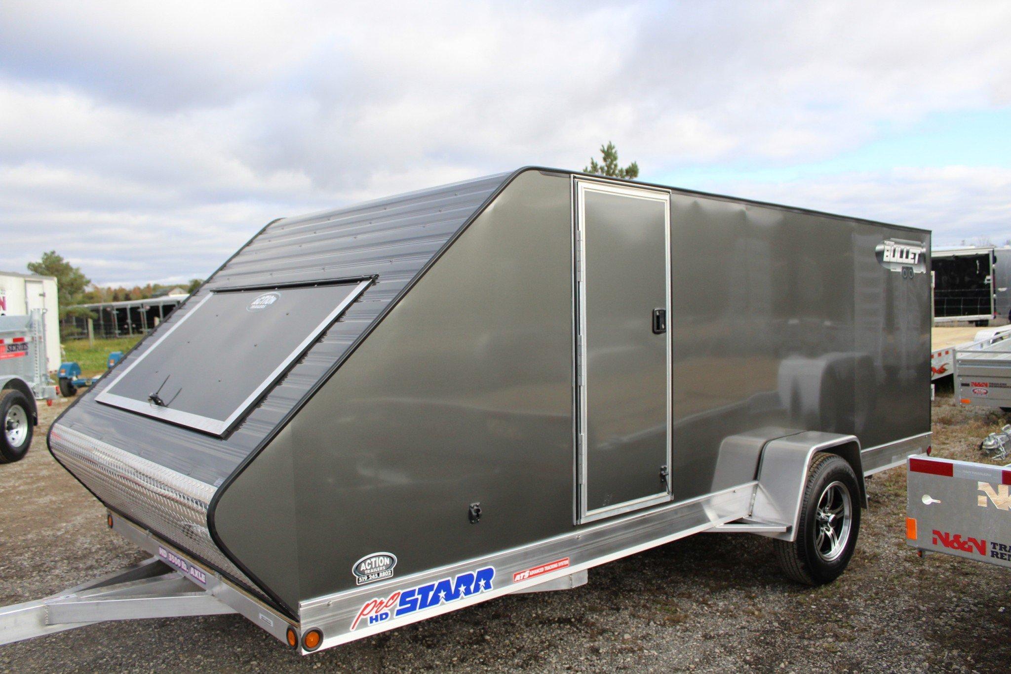 Aluminum Pro Starr Bullet Series Rear Ramp Door 7 Wide