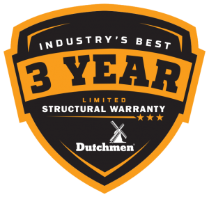 3YearWarrantyLogo DUTCHMEN Orange Jul17