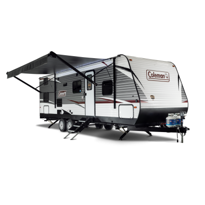 Coleman 262BH Awning Open