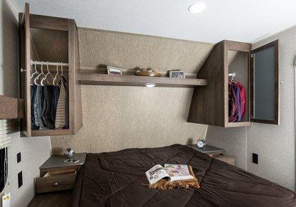 Coleman Lantern Bedroom Open